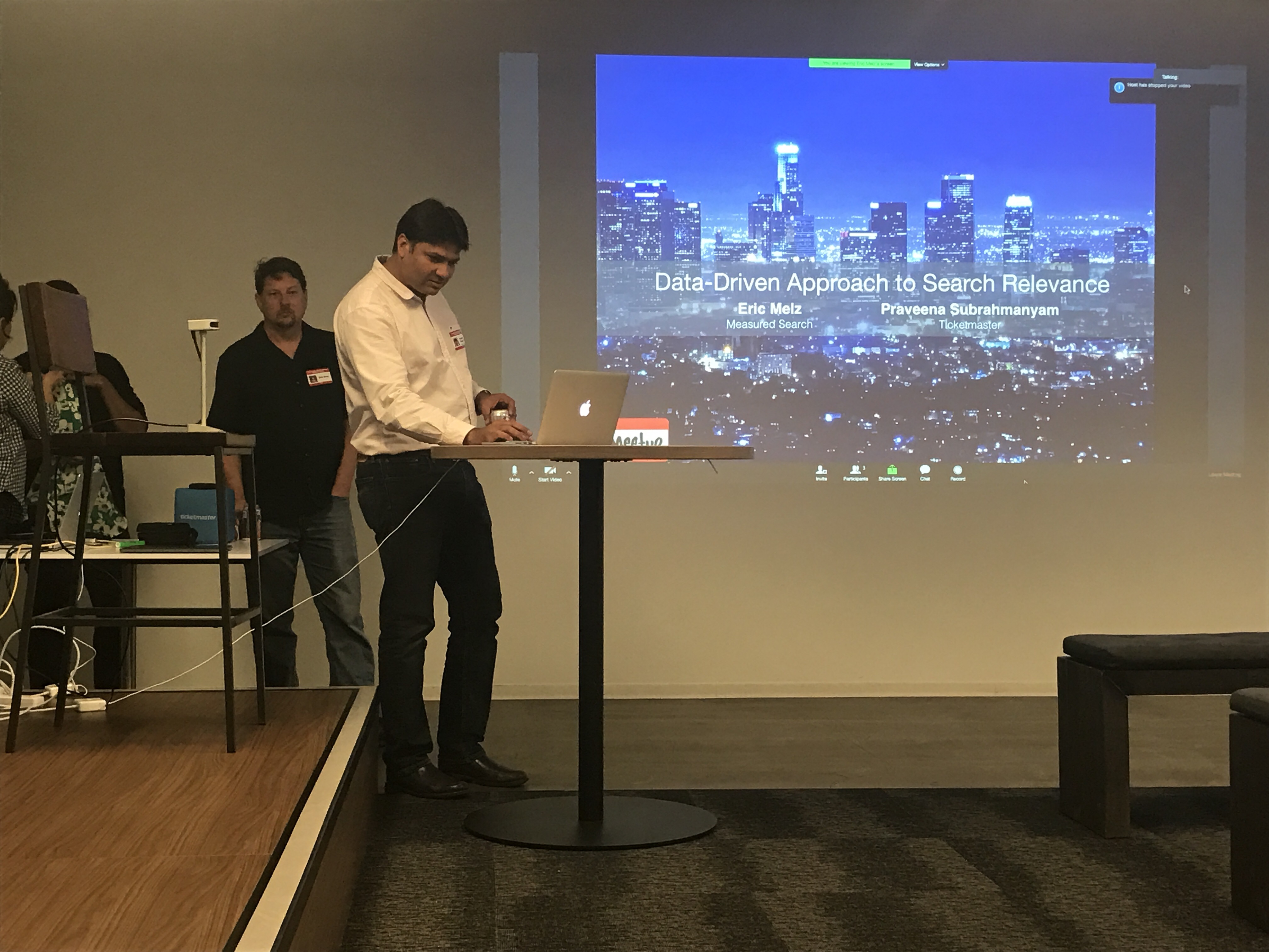 MeetUp: Data-Driven Approach to Search Relevance at Ticketmaster