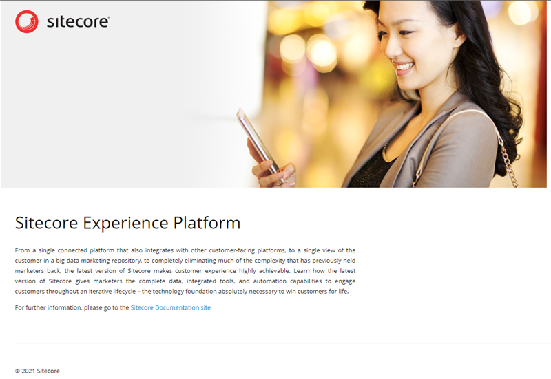 Site Search for Sitecore - Basic Homepage