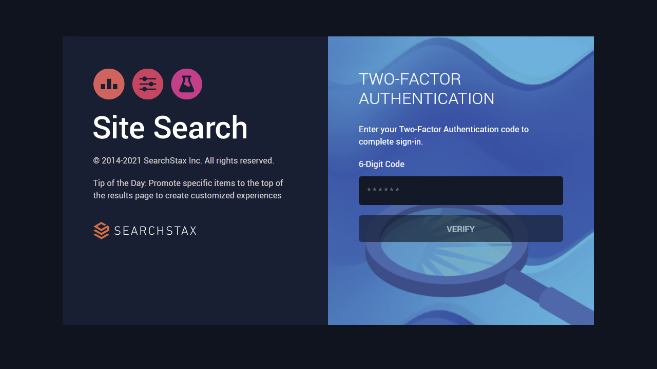 SearchStax Adds Two-Factor Authentication