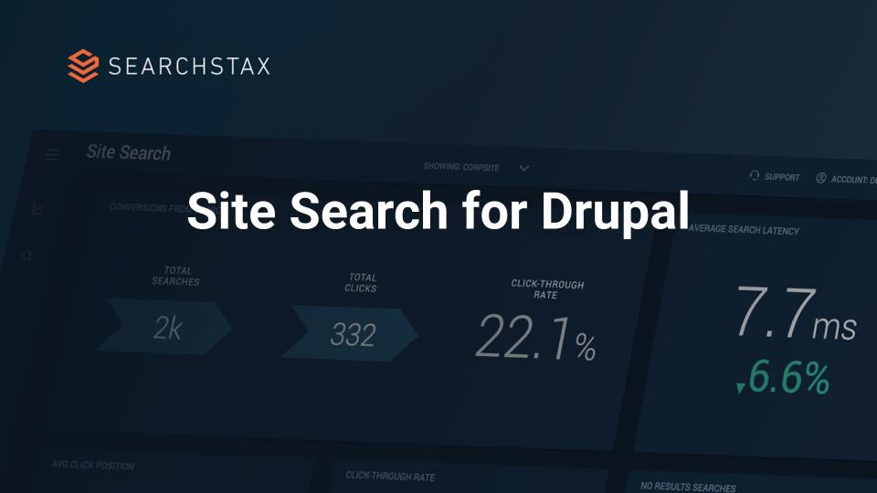 Site Search for Drupal – Video