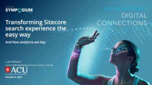 Join SearchStaxJoin SearchStax at Sitecore Symposium at Sitecore Symposium