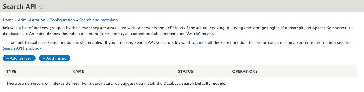 SearchStax Solr Drupal