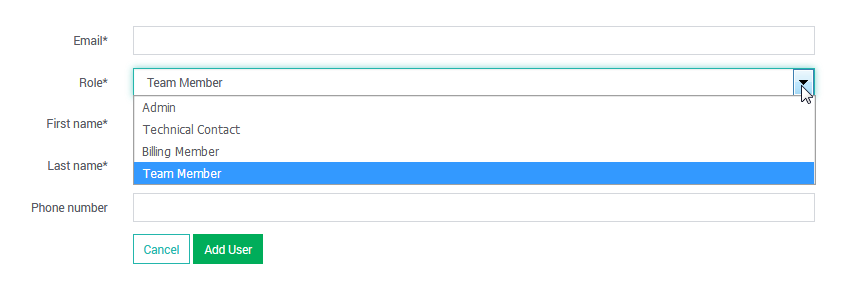 SearchStax User Enrollment
