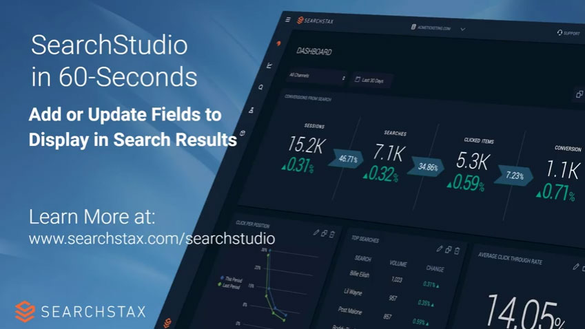 Site Search: Add Fields to Display in Search Results