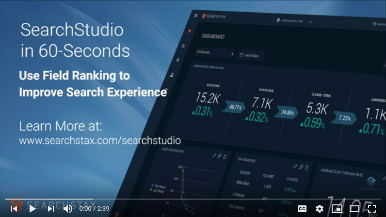 Site Search: Use Field Ranking to Improve Your Search Experience