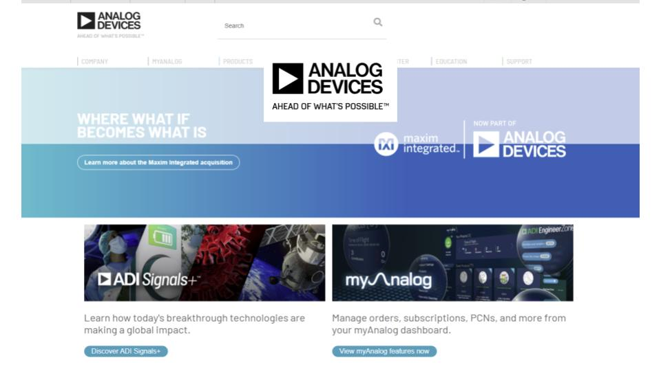Analog Devices Case Study